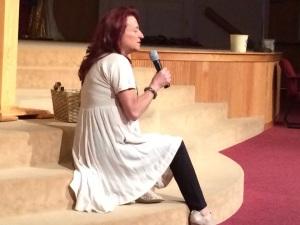 Paulette at Prophetic Explosion Rocks