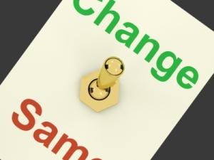 Change vs Same