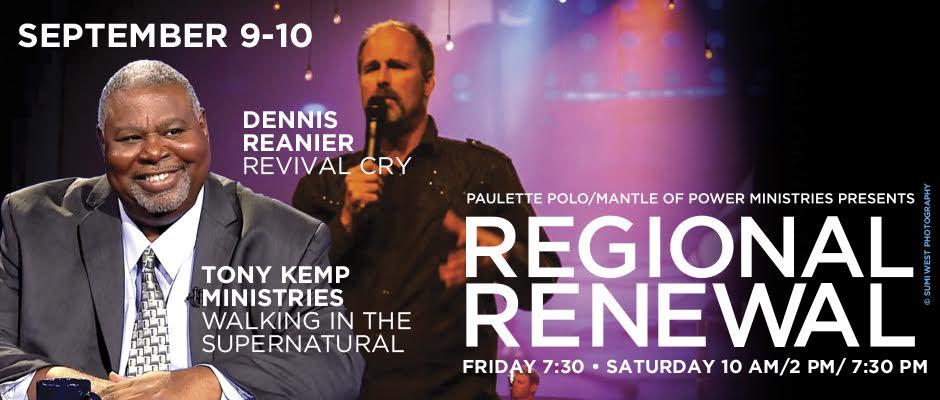 Tony Kemp and Dennis Reanier at Regional Renewal