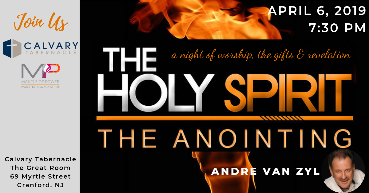 The Holy Spirit/The Anointing – MANTLE OF POWER
